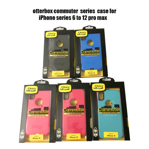 Otterbox Commuter case for iPhone series 6 to 12 pro max