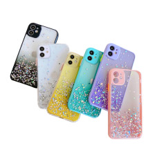 Creative quicksand sequined silicone phone case for iphone 6~12promax