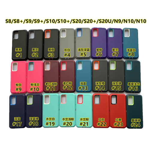 Otterbox  defender series for samsung s5 s20 note 5 note 20  a50