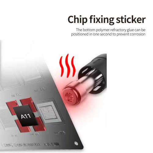 Chip fixing sticker BST-3DX (terminator of planting tin net)