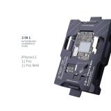 Qianli Mega-idea Phone 11-11 Pro Max Motherboard Fixture ISocket Jig Logic Board Fast Test Fixture Holder for Mainboard Repair