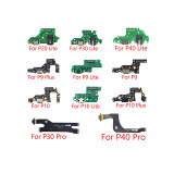 USB Charging For Huawei P9 P10 P30 lite P20 Pro P30 P9 P10 Plus Charger Port Dock Connector Flex Cable