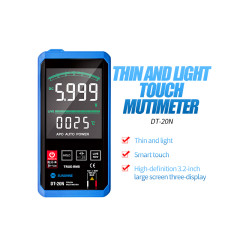 SUNSHINE DT-20N Multimeter Fully Automatic High Precision Color Touch Screen AC DC Voltage and Current Resistance Measuremen 10a