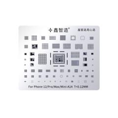 master xu stencil iphone 12 /pro/max/mini A14
