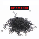 100pcs waterproof rubber ring dustproof ring for big hole glass camera frame