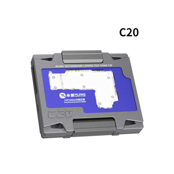 Mijing C20 4in1 mainboard test rack for iPhone 12 12Pro 12promax 12mini Layered Testing Frame Function Tester Maintenance tools