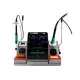 SUGON T3602 Soldering Station JBC C115 C210 Double Station Welding Rework Station For Cell-Phone PCB SMD IC Repair Solder Tools
