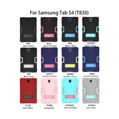 Applicable IPAD AIR1 protective cover hit color A robot ipadpro9.7 three-proof edge flat bracket cover