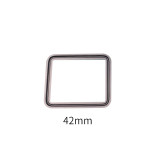 TOP 38mm 42mm Screen Glass For Apple Watch Series 6 5 4 3 1 S2 S3 S4 LCD Front Lens Outer Panel Cover Repairing +OCA + 3M