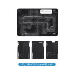 QianLi Middle Frame Reballing Platform for iPhone 12/12Pro/12ProMax/12Mini Logic Board Net Soldering Fixture