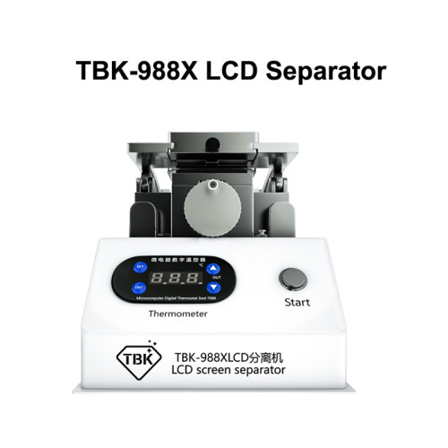 2021 TBK 988X  Curved Screen Separate Machine LCD Separator  For Samsung Iphone Display Repair