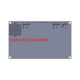 WL Silicone Phone Hot Air Gun Soldering Iron Mat Anti-static Anti-corrosion High Temperature Resistance Pad