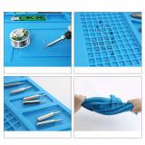 S160/S180  Silicone Mat High Temperature Anti-corrosion Magnetic Repair Pad