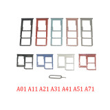 SIM Card Tray For Samsung Galaxy A01 A11 A21 A31 A41 A51 A71