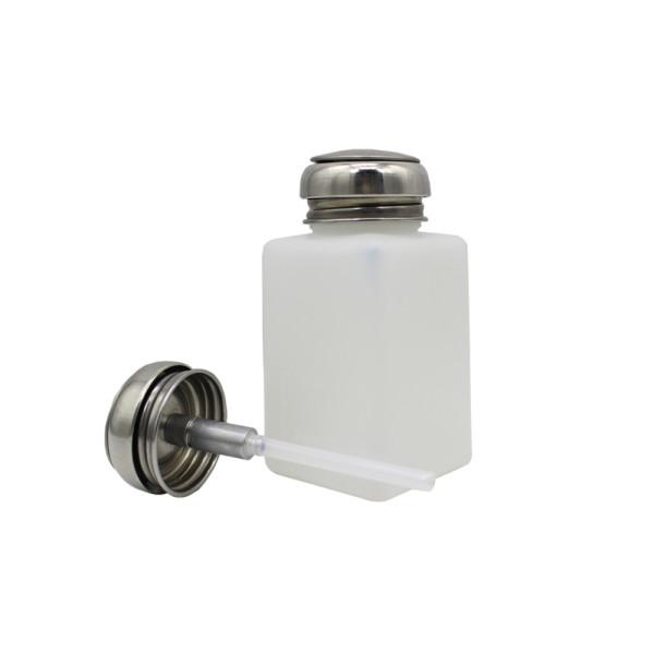 200ml Alcohol Liquid Press Pumping Dispenser Cleaner Bottle