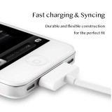 Usb Data Charger Cable for Iphone 4 4s Ipod Nano Ipad 2 3 Iphone 4 S 30 Pin 1m Cord Usb Charging Cable