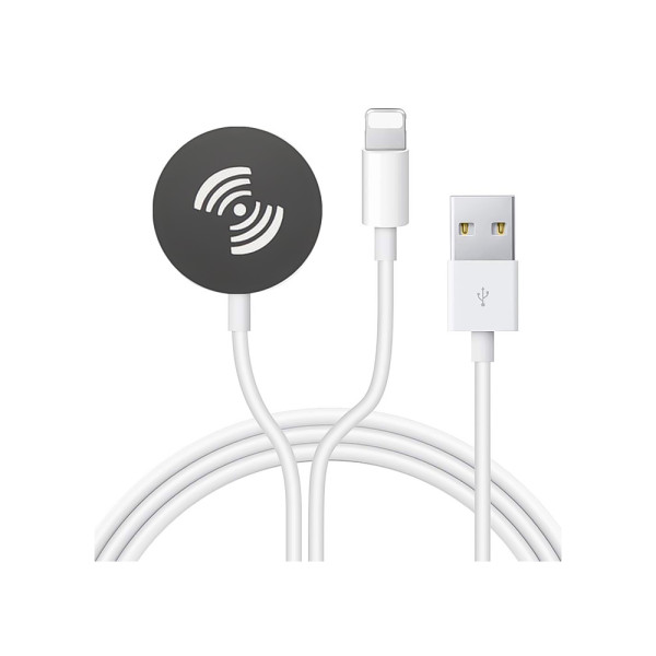 2 in 1 Portable Charger Cord for iWatch Charging USB Charger Cable for Apple Watch and iPhone iPad