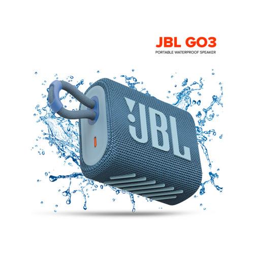 JBL GO3 Wireless Bluetooth 5.1 Speaker GO 3 Portable Waterproof Speaker Outdoor Speakers Sport Bass Sound 5 Hours Battery