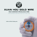 XUAN HOU Solder Wire Screen Separation Cutting Diamond Wire Imported High Hardness 0.028mm 100m