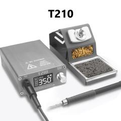 OSS T210 75W Electric Soldering Iron Constant Temperature Soldering Station Temperature Adjustable Repair Welding Tool Set