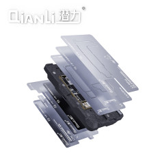 QIANLI The Middle Layer Tin Planting Station 10 In 1 Is Suitable For Apple X/XS/MAX/11/12/MINI/PROMAX