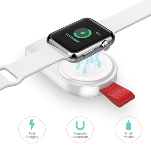 USB portable magnetic wireless charger for Apple iwatch charger