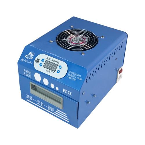G100 1000W UV curing light box Curved screen UV lamp machine