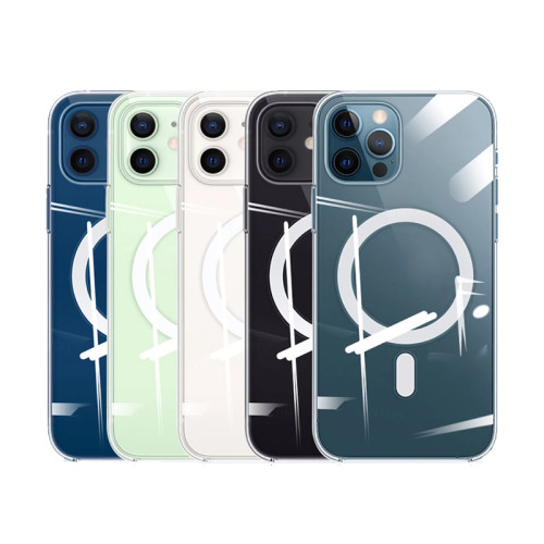 Transparent Magnetic Magnet Case for iPhone 13 Pro Max IPhone13 Mini 13Pro 13Mini Magsafing Support Wireless Charging Cover