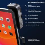 VOGEK 6-in-1 Aluminum iPad Pro Docking Station with USB C Hub