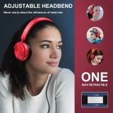 Vogek Lightweight Portable On Ear Headphones with Mic