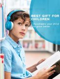 Vogek Wired On-Ear Kids Headphone