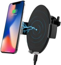 Vogek Touch Sensitive Wireless 10W Qi Fast Charging Car Charger Mount
