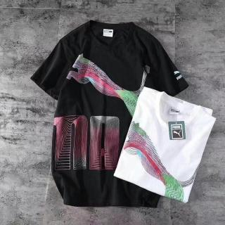 PUMA New Couple Style Three-Dimensional Print T-Shirt