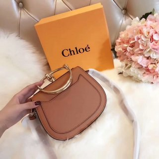 Chloe Bracelet Bag Chloe Nile Ring Saddle Bag Shoulder Bag