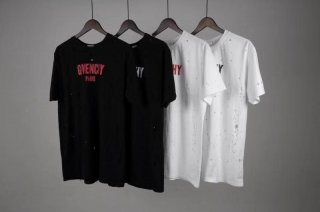 Givenchy classic hole T-shirt black and white 4 colors