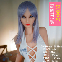 DollHouse168 New 155cm Christie TPE製ラブドール EVO骨格採用 中空タイプおっぱい 送料無料