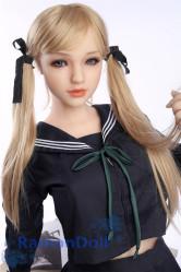 Sanhui Doll シリコン製ラブドール 158cm Eカップ #8ヘッド お口の開閉可能 送料無料