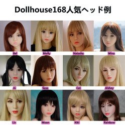 DollHouse168 頭部のみ TPE製頭部 Head 送料無料