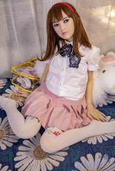 MZR Doll 新発売 シリコン製頭部+TPEボディ 138cm Aカップ 雪乃 軟性シリコンヘッド 送料無料