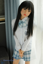 Sister Doll 新発売 シリコン製頭部+TPEボディ 138cm Aカップ #23ヘッド 送料無料