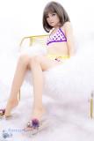 ロリ系ラブドール MyLoliWaifu シリコン製頭部+TPEボディ 138cm(AA) 貧乳 柚希Yuki 送料無料