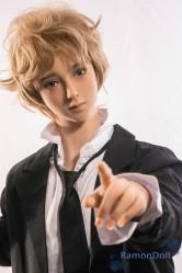 Qita Doll TPE製ドール 男性型モデル 160cm 明ちゃん 電動着脱式ペニス選択可 送料無料