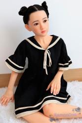 Sister Doll ロリラブドール シリコン製頭部+TPEボディ 138cm 貧乳 #23ヘッド 送料無料