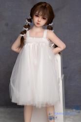 AXBDOLL ロリドール tpeラブドール 108cm 貧乳 #09ヘッド 掲載画像はホワイト肌&リアルメイク付き