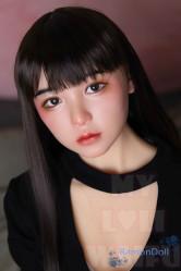 ロリ系人形 MyLoliWaifu ラブドール TPEボディ 145cm Aカップ 結菜Yuna 頭部材質(TPE or シリコン)&ボディ選択可