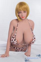 トルソー AXBDOLL 半身ラブドール 80cm Jカップ #38ヘッド 両胸に穴付き TPE人形