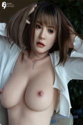 【9月最新作】RZR Doll シリコン製ラブドール 165cm Dカップ 奈雪ちゃん ヘッド選択可能