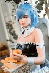 GD Sino シリコン製ラブドール 156cm Cカップ G1ヘッド 洛紫  フィギュア人形