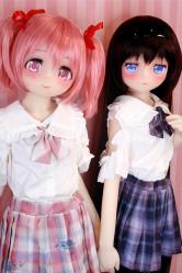 アニメドール Aotume TPE製ラブドール 135cm貧乳(細身) #54ヘッド 7ヘッド キュートな人形