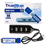 Weed Pack True Blue Mini USB Stick Plug and Play for Playstation Classic
